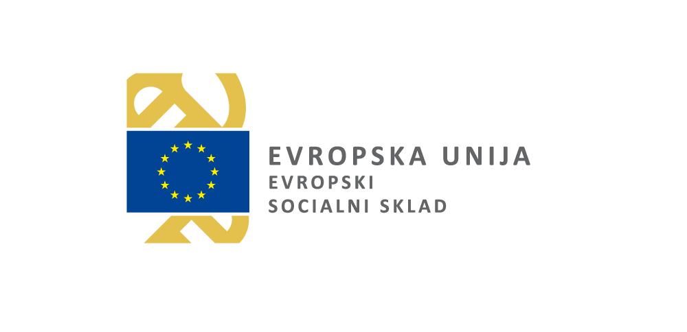 Logotip Evropska unija - Evropski socialni sklad